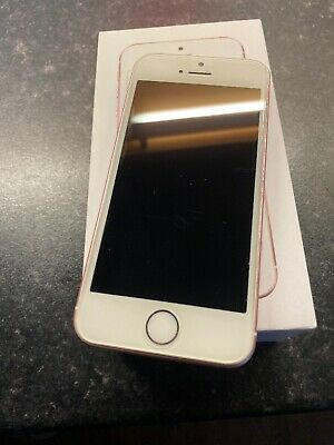 Apple iPhone SE - 16GB - Rose Gold LOCKED TO THREE NETWORK condition Is Good