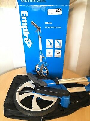 New Empire Folding Measuring Wheel with Carry Bag 320mm/EM320MW Retail £83