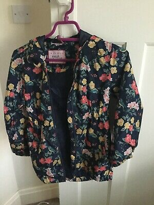 Flowery Rain Pack away Jacket Age 9-10 Nutmeg