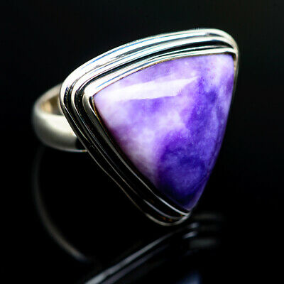 Large Tiffany Stone 925 Sterling Silver Ring Size 6.5 Ana Co Jewelry R983358F