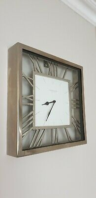 Metal Square Clock