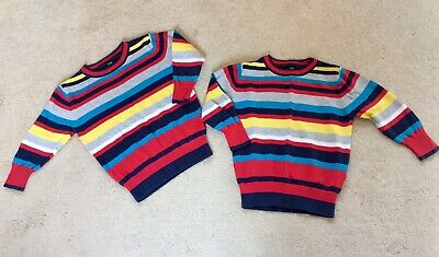 Christmas/Xmas - Twins fine knit jumpers aged 2-3 - Immaculate Condition!