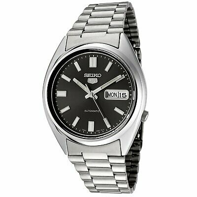 Seiko 5 Mens Black Dial Automatic Watch SNXS79K RRP £149