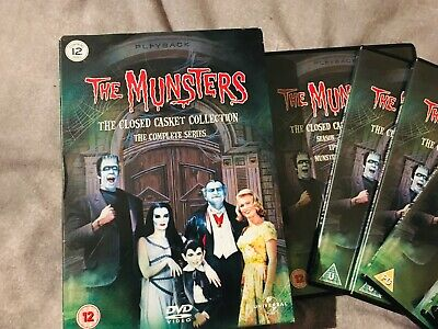 The Munsters - Series 1-2 - Complete (DVD, 2007, 12-Disc Set, Box Set)