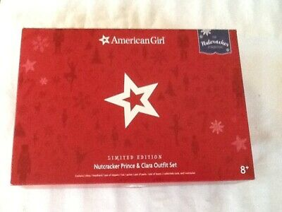 American Girl Nutcracker Prince & Clara Outfit Set. Limited Edition. New in Box