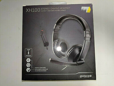 Gioteck Xh100 Gaming Headset + Mic Control * Playstation 4 Xbox One Switch Ps4