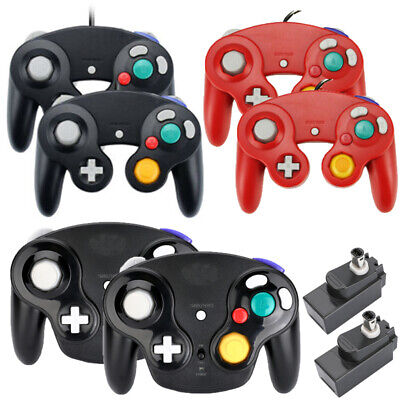 1/2Pack Wireless NGC Controller Gamepad for Nintendo GameCube GC & Wii Console