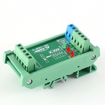 2-Channel PLC Amplifier Optical Isolator Differential Signal Output Converter