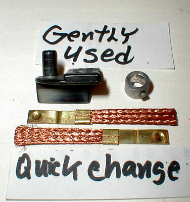 """Pickup Guide Quick Change Kit white 3//16/"""" Post Dynamic Vintage Gently Used 1"""