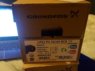 Grundfos UPS2 PH-50/60 NCB Pump Head Only!! 98442191 **1ST CLASS DELIVERY!!