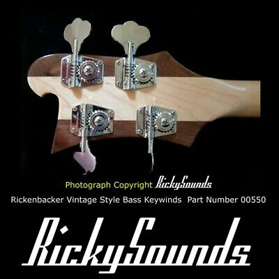 Complete Rickenbacker Mute Assembly 3000//4000 Series Basses