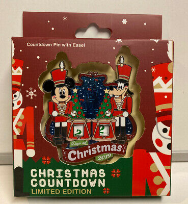 Disney Parks WDW 2019 Mickey Christmas Countdown Limited Edition Pin #3000