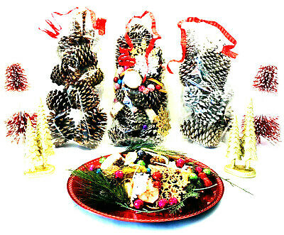 New Holiday Bags of Pinecones for a Beautiful Table Display (Comes in 3 Choices!
