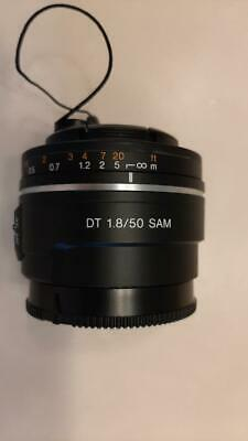 Sony SAL 50mm f/1.8 DT SAM prime Lens, for A-mount cameras, rarely used
