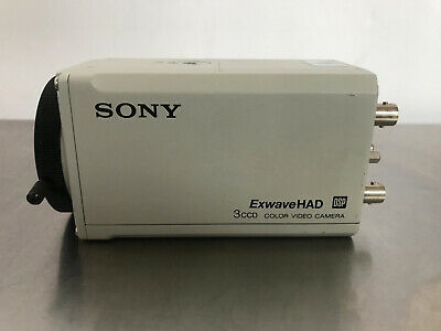 Sony ExwaveHAD DSP 3CCD Color Video Camera DXC-990 for Security and Industrial