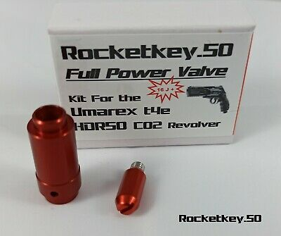 Rocketkey.50 - t4e HDR50 Exportventil >16 Joule! Full Power valve HDR 50 tuning