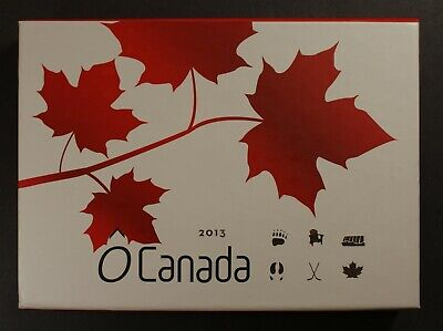 Royal Canadian Mint 2013 $10 Fine Silver 6-Coin Set - O Canada