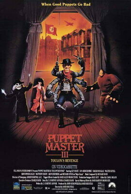 66022 Puppet Master 3: Toulon Revenge Guy Rolfe Wall Print POSTER Affiche