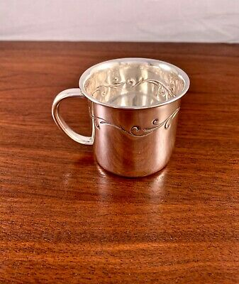 Towle Silversmiths Sterling Silver Baby Cup: Pattern #878, No Monogram