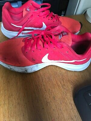 Nike Lunarconverge girls trainers, in solar red, Uk size 4, European Size 37.5
