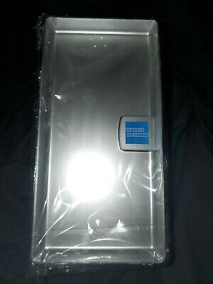 American Express AMEX Tip Tray/ Check Presenter/ Receipt Holder, Silver