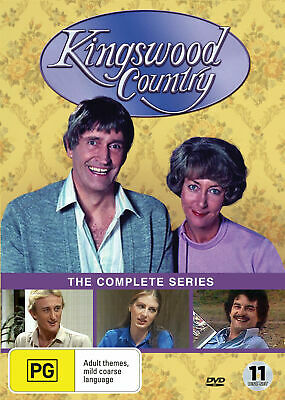Kingswood Country The Complete Series ( 11 Disc Set ) New And Sealed Region 4