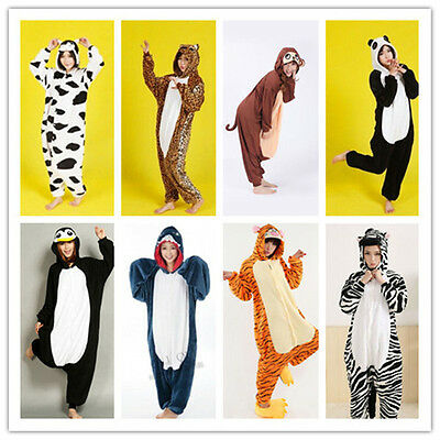 Adult Kids Unisex Kigurumi Animal Onesie1 Pajamas Cosplay Costume Sleepwear 2020