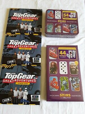 3 TOP GEAR GREAT ADVENTURE STICKER ALBUMS Brand New!