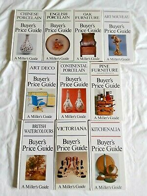 10 MILLER'S BUYER'S PRICE GUIDE BOOKS Bulk Lot!