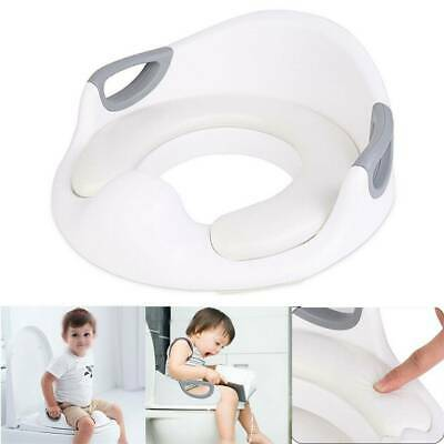 2 in1 Baby Kids Toilet Seat Toddler Training Potty Trainer Safety Urinal Chair