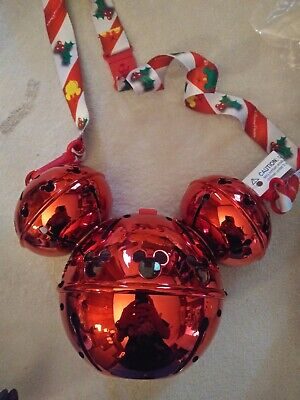 Disney 2019 Light Up Mickey Mouse Jingle Bell  Sipper Cup Christmas NEW SOLD OUT
