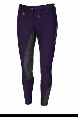 Pikeur Lucinda Grip Grape/ Purple Breeches Size 18 Eu 46