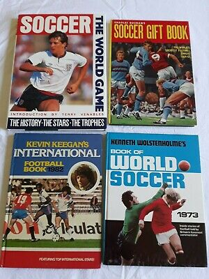 4 ENGLISH FOOTBALL BOOKS Bulk Lot! SOCCER