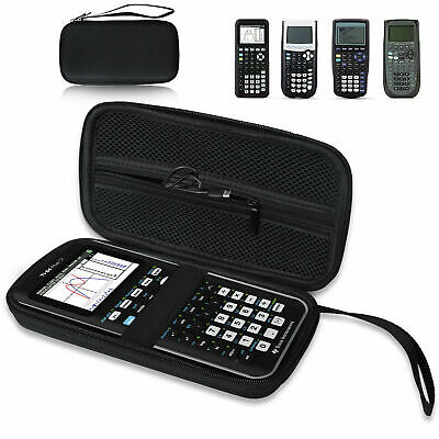 Para la calculadora gráfica Texas Instruments Plus CE Hard EVA Case Travel Bag