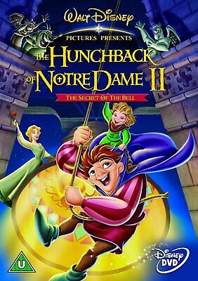 The Hunchback Of Notre Dame 2 - Secret Of The Bell Dvd (Disney 2002) New/Sealed