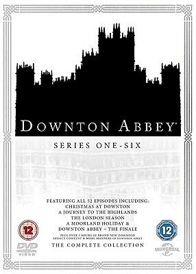 Downton Abbey: The Complete Collection, series 1-6 (REGION B)