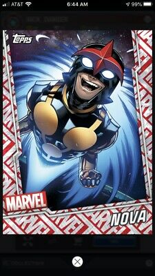 Topps Marvel Collect Digital Card - Tier 7 Motion Card - Nova
