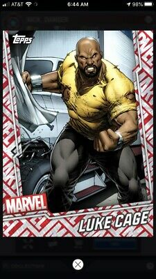 Topps Marvel Collect Digital Card - Tier 7 Motion Card - Luke Cage