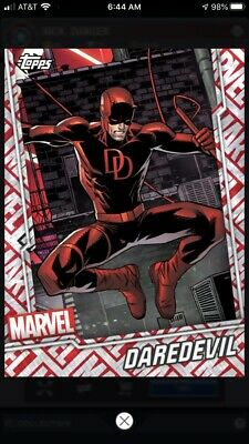 Topps Marvel Collect Digital Card - Tier 7 Motion Card - Daredevil