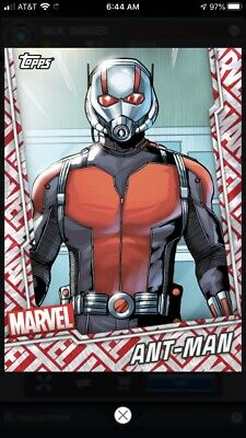 Topps Marvel Collect Digital Card - Tier 7 Motion Card - Ant-Man