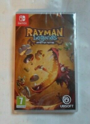 Rayman Legends Definitive Edition Nitendo Switch