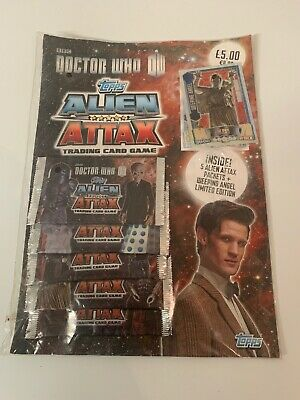 Doctor Who Topps Alien Attax Trading Card Pack