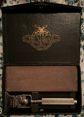 Vintage Stag Company Stropper / Sharpener from Cedar Point Cert of Authenticity