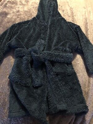 Next Boys Fleece Dressing Gown Age 3-4 Years.