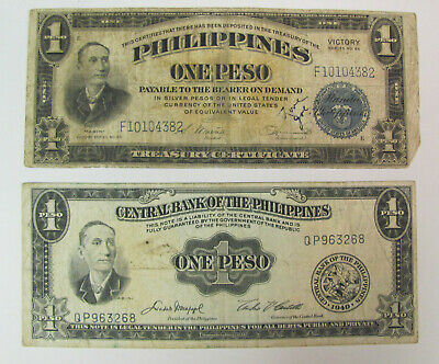 Philippines 1 Peso 1944 WWII XF Pick S672