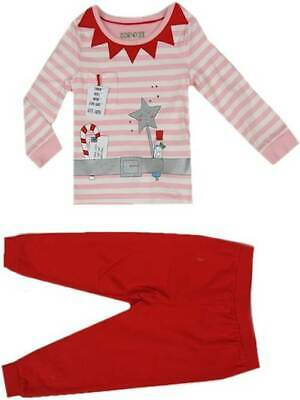 Xmas pyjamas Christmas pj fairy elf girls M&S marks and spencer age 4-5 years ne