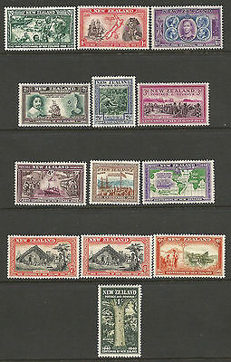 New Zealand. 1940. Centenary Set. Mounted Mint.