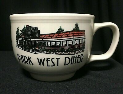 Park West Diner Giant Coffee or Soup Mug Homer Laughlin China Restaurant Ware
