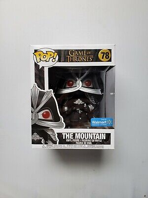 "Funko Pop Game of Thrones The Mountain 6"" Walmart Exclusive Armored #78"