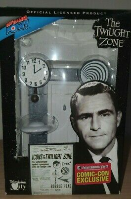 Icons of the Twilight Zone revisited bobble head by Bif Bang Pow